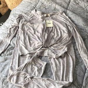 Lightweight UGG pajamas